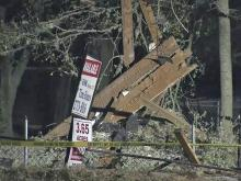 An explosion destroyed a home early Wednesday in the 3300 block of Cumberland Road southwest of Fayetteville, the Cumberland County Sheriff's Office said. Emergency crews responded to the home, which is located between Midan Lane and Camomile Drive, about 1:45 a.m. after a deputy patrolling the area called in the explosion.