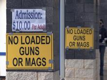 Gun show at State Fairgrounds