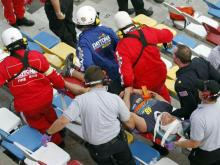 Angier guy injured at Daytona race