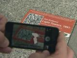 QR Codes on public art