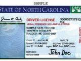 Sample DACA license