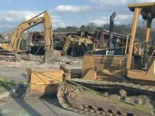 Raleigh bowling alley torn down to make way for park