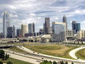 City of Charlotte Skyline