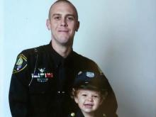 Officer's shooting brought him closer to family