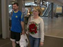 Triangle residents glad to be home after marathon bombing