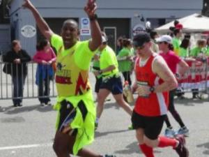 When two bombs exploded Monday near the finish line of the Boston Marathon, Sgt. First Class Ed Broadnax from Fort Bragg said they reminded him of the roadside bombs he survived in Afghanistan and Iraq.