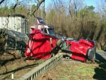 Dudley man turns to God after 18-wheeler crushes legs
