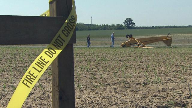 Johnston Co. plane crash