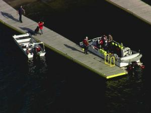 Crews resume their search Monday morning for a man believed to have drowned Sunday in Jordan Lake.
