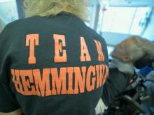 'Team Hemmingway' raises funds for paralyzed Knightdale man