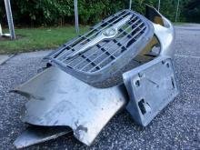 Troopers found the front bumper and grill of a car that appears to be a silver Chrysler 300 or 300M sedan at the scene of a fatal hit-and-run in Wilson County.