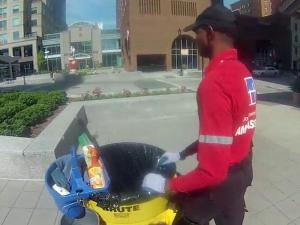 Downtown Raleigh Ambassadors help visitors feel secure and keep the area clean. The popular program is in its eighth year.