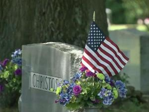 Veterans, friends, and family paid tribute to fallen soldiers at the Historic Oakwood Cemetery in Raleigh on Monday.