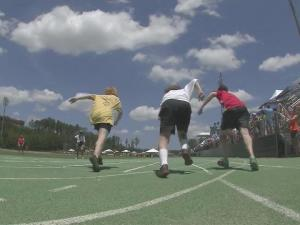 More than 1,000 athletes competed in the NC Special Olympics Summer Games.