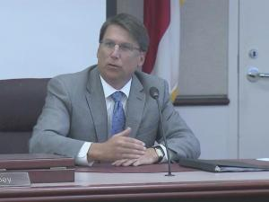 Gov. Pat McCrory discusses standardized testing.