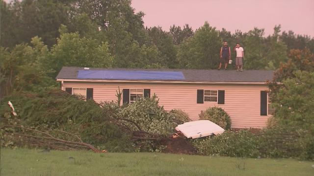 Severe weather causes damage in Franklin County