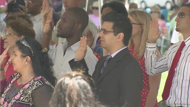 30 take oath, become citizens in Raleigh ceremony