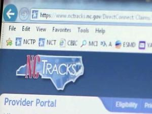 NCTracks website, Medicaid claims system