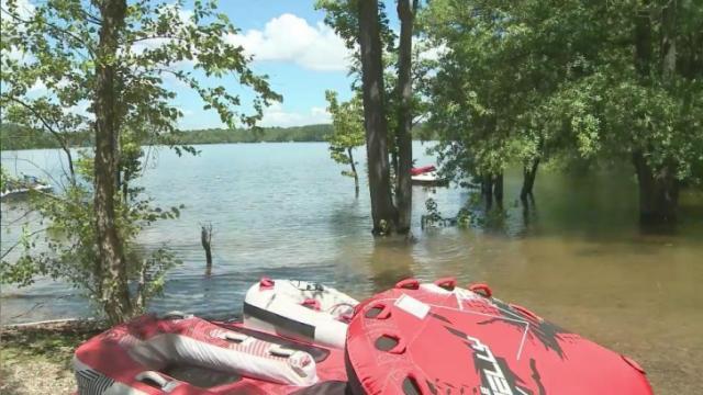 Kerr Lake Campsites