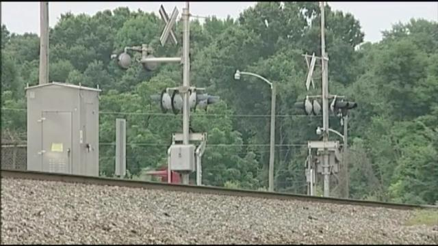 A man was killed Saturday after stepping into the path of an Amtrak train as it approached the station in Burlington, authorities said.