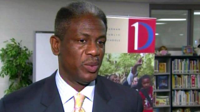 Durham Public Schools Superintendent Eric Becoats