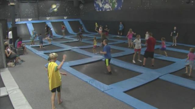 Trampoline arenas are popping up all around the country, prompting concern by some parents about their safety.