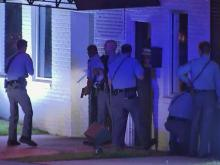 Police storm Raleigh club after double shooting