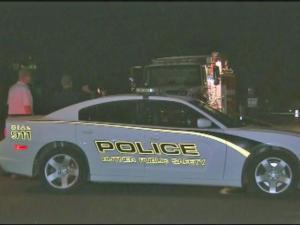 Butner police were serving warrants when an officer shot a suspect.