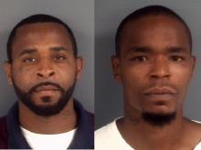 One charged, two sought in gas station slaying