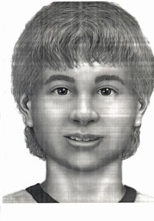 This is an artist rendering of an unidentified boy who was found dead under a billboard off Interstate 40/85 in Mebane on Sept. 25, 1998. He was white and about 10 to 12 years old.