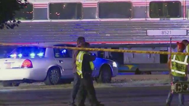 Amtrak train crash in Garner
