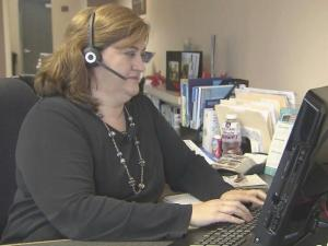 Local travel agent Susan Claypoole's home mortgage is stuck in limbo because of the partial government shutdown.