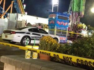 Wake County sheriff's deputies were investigating an accident early Monday that injured a worker at the North Carolina State Fair. Officials said the worker, a 35-year-old man, was disassembling a ride when part of it fell on him.