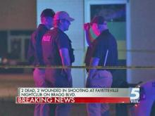 Two killed in shooting outside Fayetteville nightclub