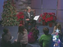 David Crabtree reads 'T'was the Night Before Christmas'