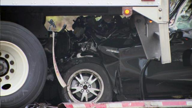 I-540 crash