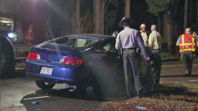 North Raleigh wreck: Dec. 5, 2013