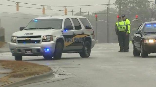 Gas leak prompts evacuations in Apex