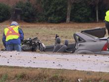 A wreck involving a car and an auto-transport truck sent one driver to the hospital and closed N.C. Highway 42 in Willow Spring for hours on Dec. 10, 2013.