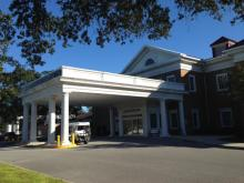 Dosher Memorial Hospital in Southport, N.C. (Photo by Chad Flowers)