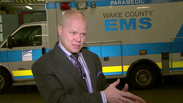 Dr. Brent Myers, Wake County EMS director