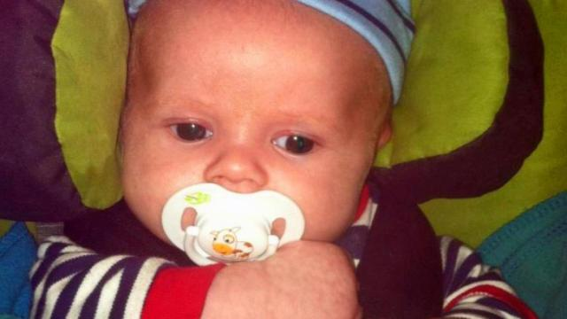 Jonathan Michael Jones is accused of abusing his two-month-old son, Jaxen, at their Smithfield home on Dec. 27, 2013. The baby has had brain surgery for his injuries and has been on life support.