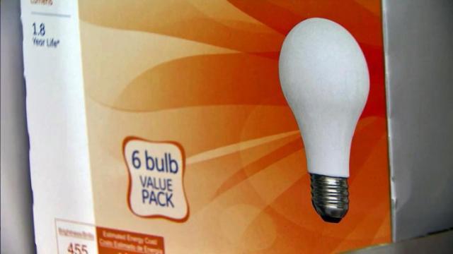 Traditional light bulb