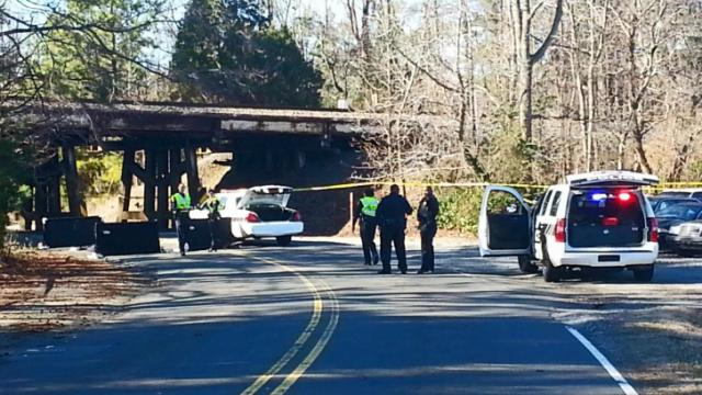 A pedestrian was struck by an Amtrak train early Sunday afternoon. The incident happened at around 12:30 p.m. in the area of Neal Road and Hillsborough Road involving an Amtrak Piedmont train, which operates between Raleigh and Charlotte. No injuries were reported among the crew or 80 passengers. (WRAL/Zac Gooch)