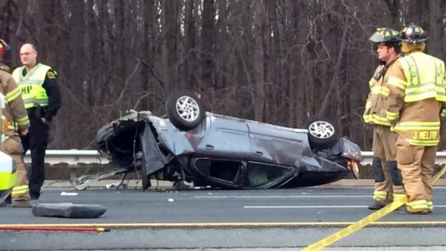 I-40 wreck