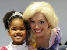 Marbles Kids Museum in Raleigh hosted a princess tea on Saturday, February 1, 2014.