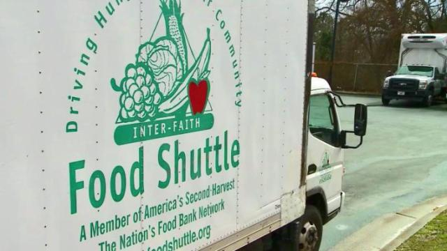 Food agencies catching up from snow storm