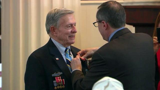 NC WWII vets receive French Legion of Honor medals