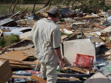 Tornado causes damage in Wayne County