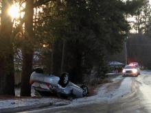 Icy spots create tough commute across Triangle